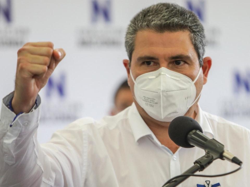 Juan Sebastián Chamorro presenta plan de gobierno