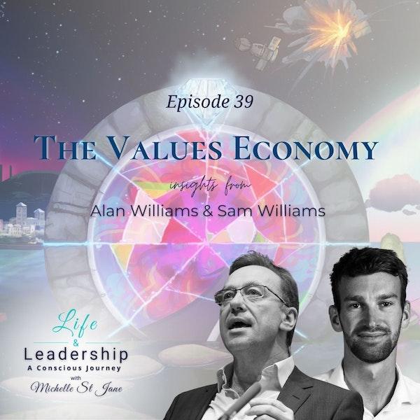The Values Economy | Alan and Sam Williams Image