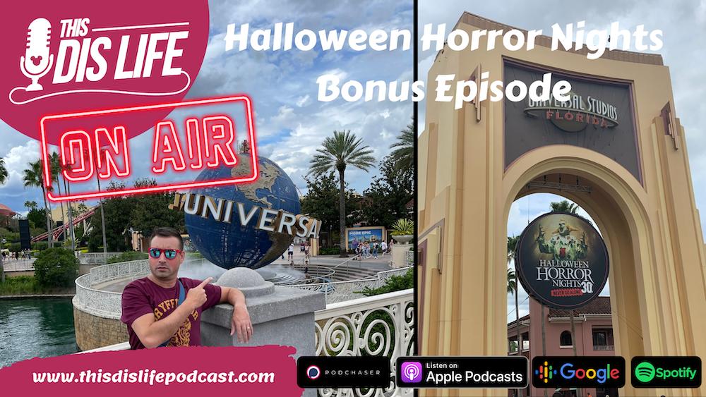 Bonus Episode: Halloween Horror Nights at Universal Studios Orlando