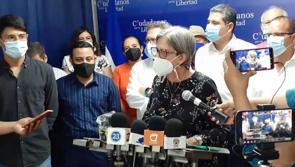 Alianza Ciudadanos por la Libertad se solidariza con Cristiana y Carlos Fernando Chamorro