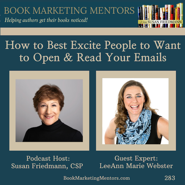 How to Best Excite People to Want to Open and Read Your Emails - BM 283 Image