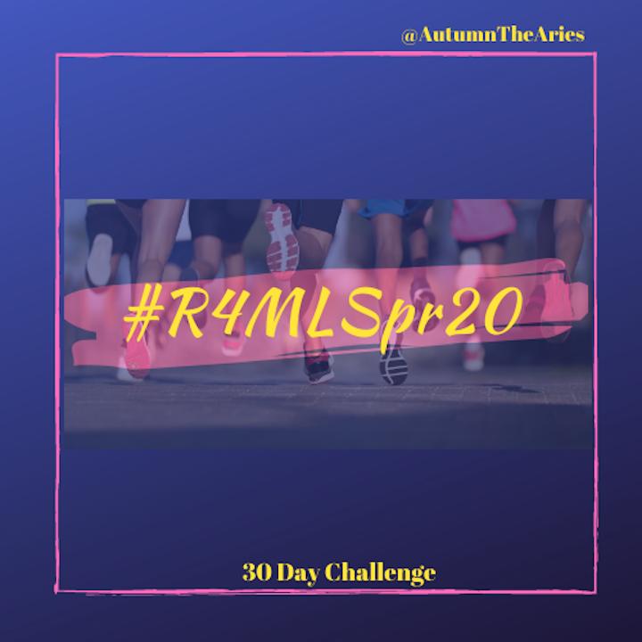 #R4MLSpr20 - 30 Day Challenge
