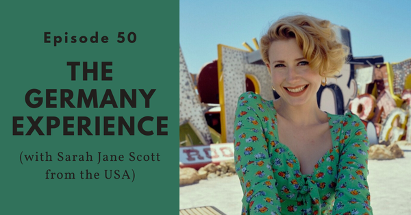 Singing schlager music in Germany, and misogyny in the music industry (Sarah Jane Scott from the USA)
