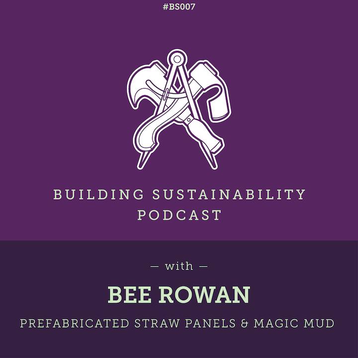 Prefabricated straw panels & magic mud - Bee Rowan