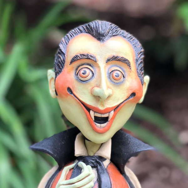 Laurie Hardin: Smiling Halloween Art Image