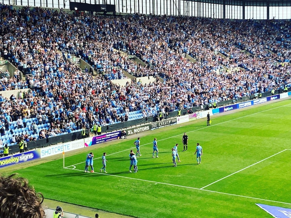 Total Cov Blog #7 - Coventry City 2-0 Middlesbrough, 11.09.2021.