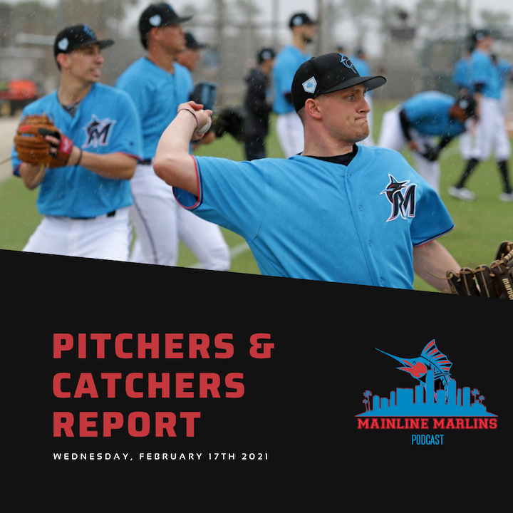 Transcript of Episode 1 of the Mainline Marlins Podcast 2/17/21