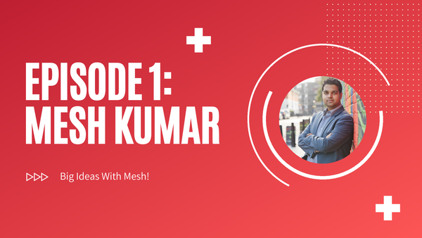 [Trailer] Getting Out Of My Comfort Zone And Into Podcasting: Mesh Kumar Image