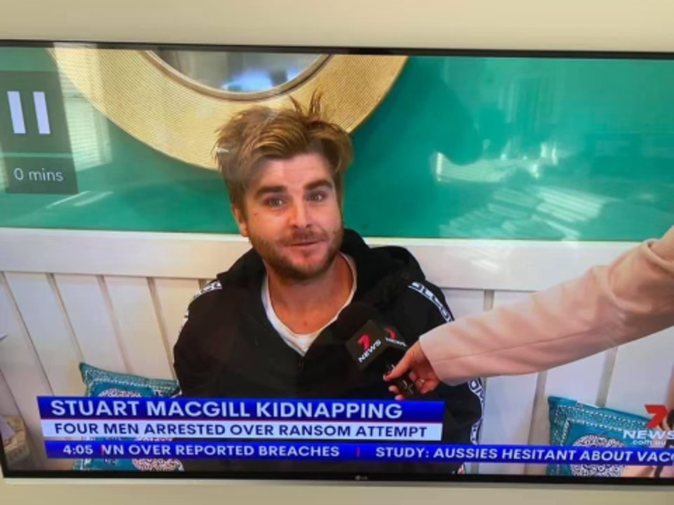 Was a loyal Skip This Podcast listener involved in the Stuart MacGill kidnapping???