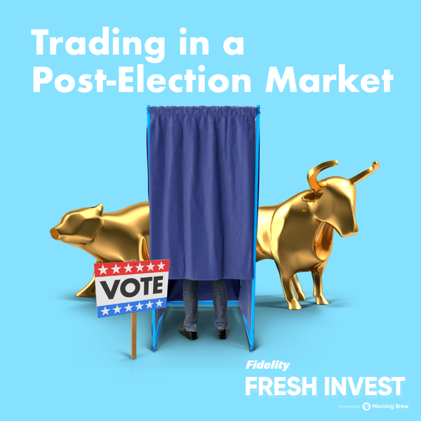 Trading in a Post-Election Market