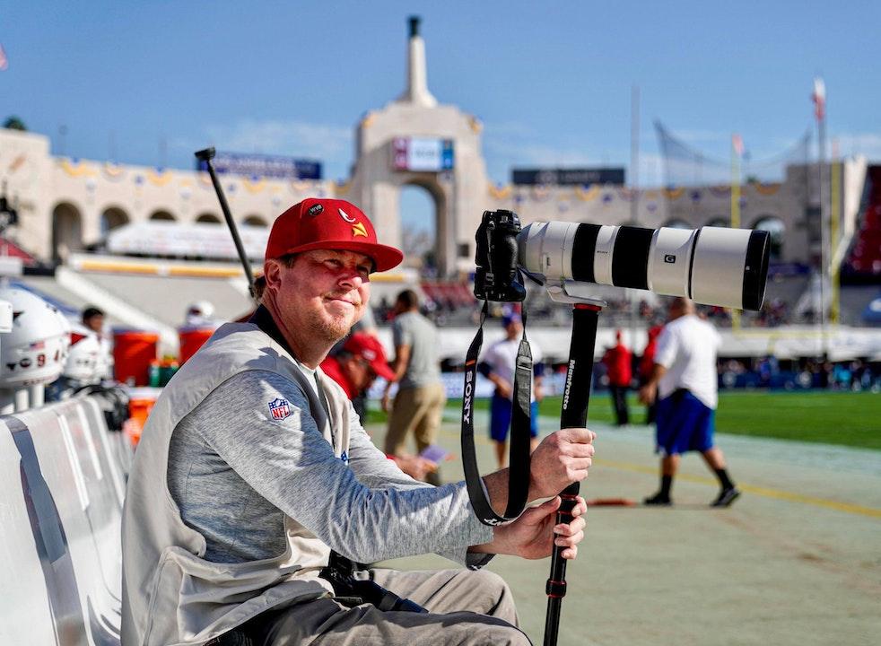 Sony Artisan and Pro Sports Photographer, Gene Lower