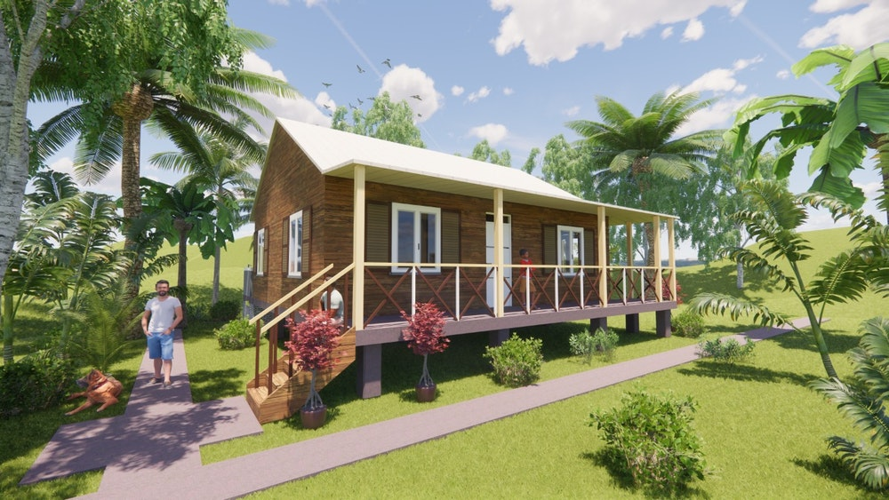 Definidas 4 tipologías de vivienda para la reconstrucción de Providencia y Santa Catalina