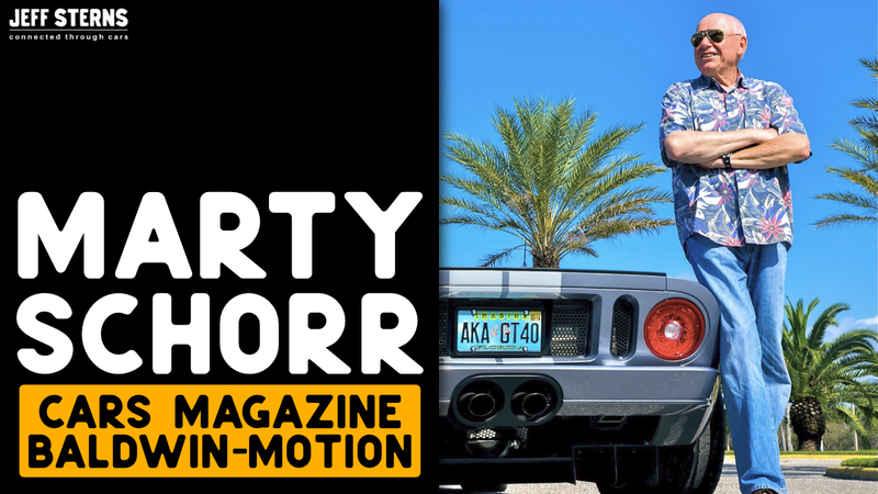 Episode image for LEGENDARY MARTYN SCHORR! CARS and 'VETTE Magazine | FORD GT owner