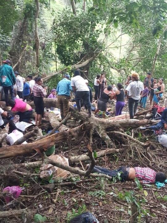 Accidente deja 19 fallecidos en la comunidad Ocote Tuma, en Waslala