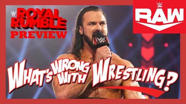 ROYAL RUMBLE PREVIEW - WWE Raw 1/25/21 & SmackDown 1/22/21 Recap Image
