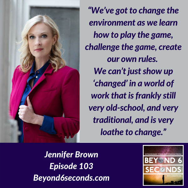 Episode 103: Diversity and Inclusion in the Workplace with Jennifer Brown Image