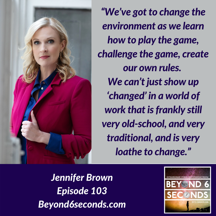 Episode 103: Diversity and Inclusion in the Workplace with Jennifer Brown