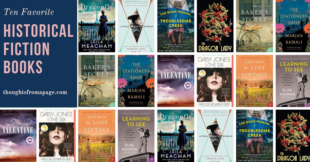 10 Favorite Historical Fiction Titles