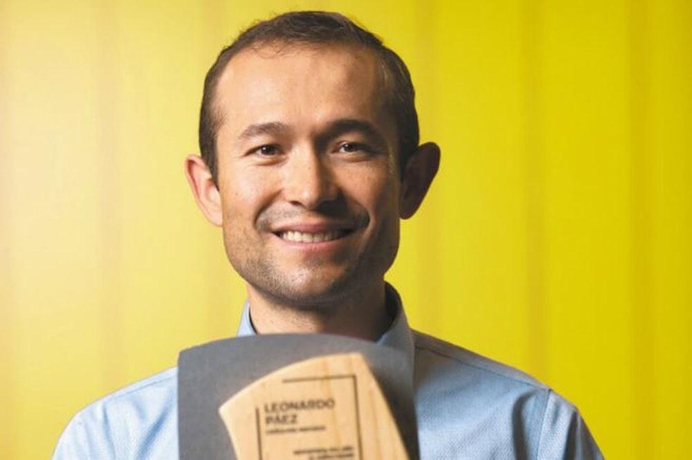 Leonardo Páez es el Deportista del Año de El Espectador y Movistar 2020