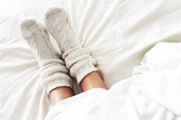 Socks on or off