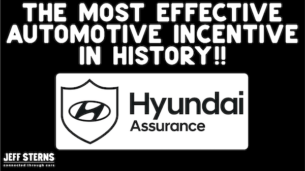 THE MOST EFFECTIVE AUTOMOTIVE INCENTIVE IN HISTORY-HYUNDAI ASSURANCE- WALKAWAY Image
