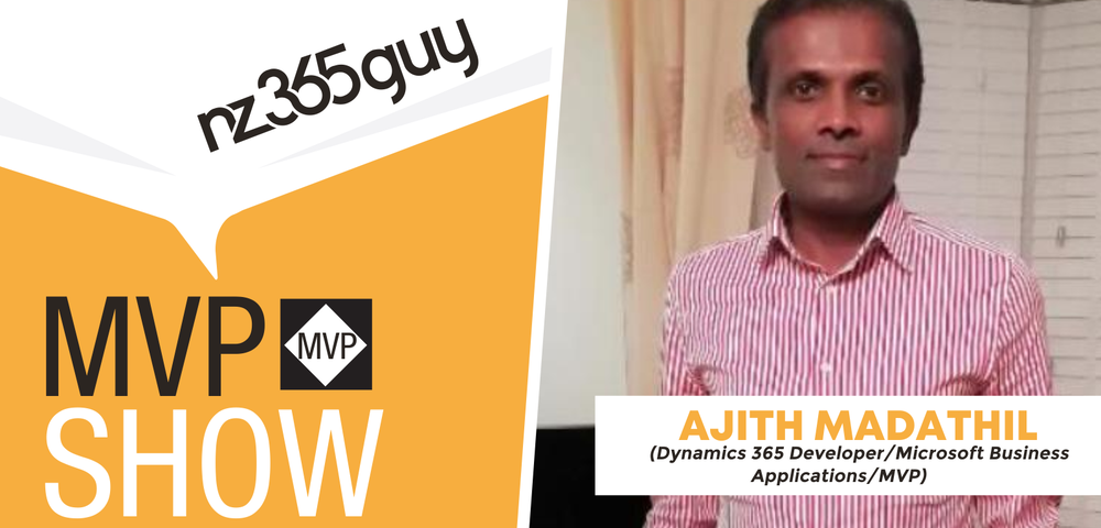 Ajith Madathil on The MVP Show