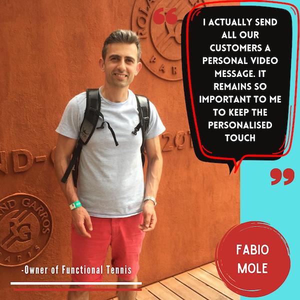 Episode 76: Fabio Molle - Functional Tennis