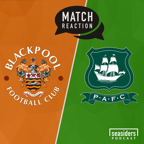 "Blackpool 2 - Plymouth 2 : ""Bongs & Lines"""