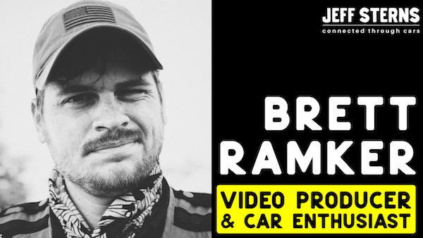 BRETT RAMKER! Emmy Award winning NASCAR, Michelin, IMSA video man