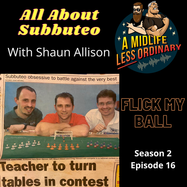 All About Subbuteo: Flick My Ball