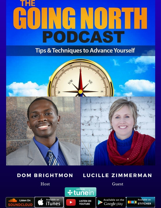 """69 - """"Finding the Upside of Down"""" with Lucille Zimmerman (@LucilleZ)"""