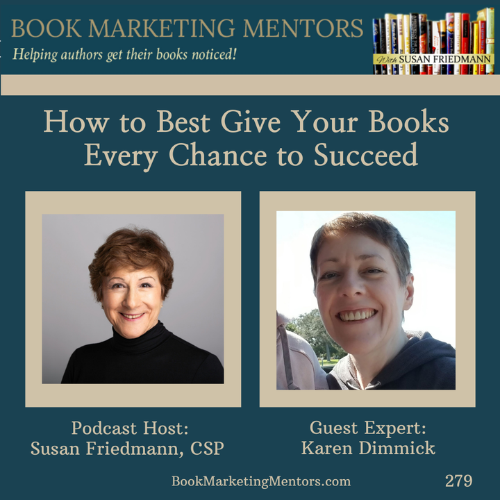 How to Best Give Your Books Every Chance to Succeed - BM279