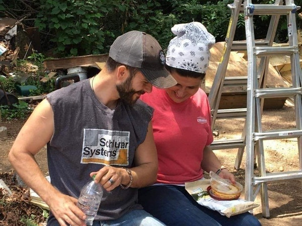 Rescuing Families: Married Contractors Build to Give Back Image