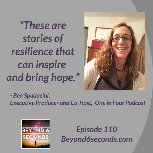 Episode 110: Incarceration, re-entry and resilience – with activist and podcaster Bea Spadacini Image