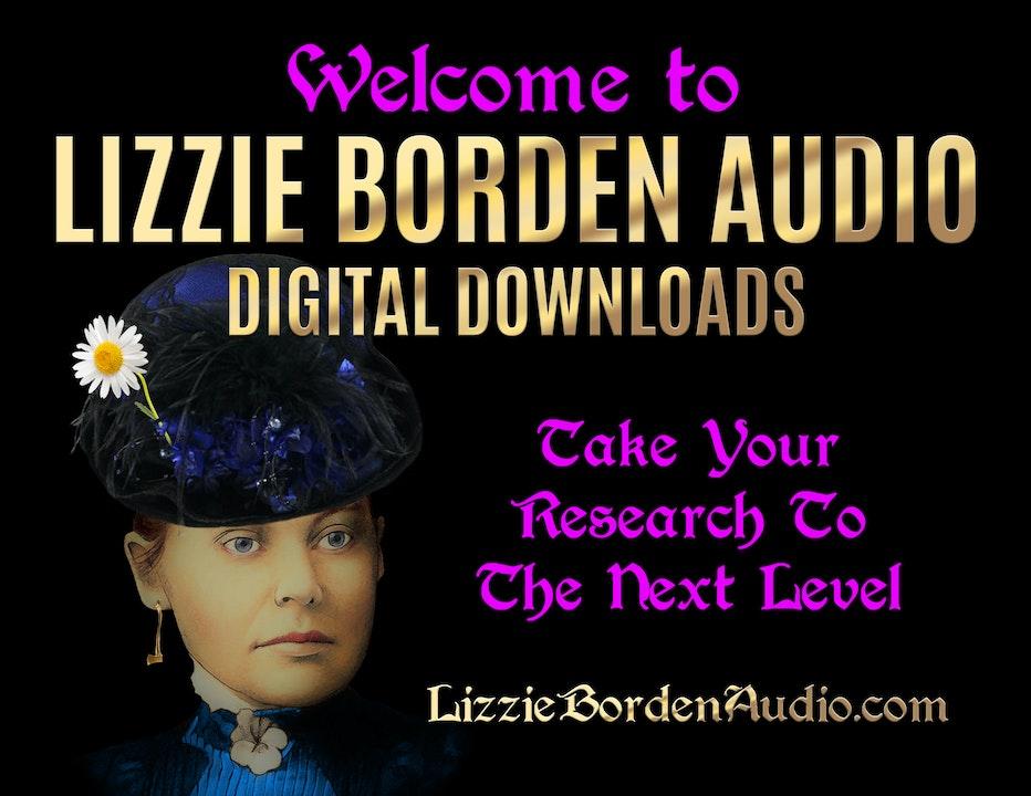 Welcome to Lizzie Borden Audio