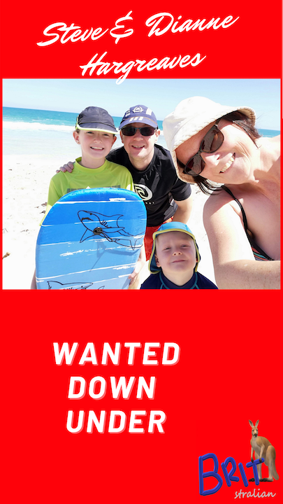 2: Steve and Dianne Hargreaves, Wanted Down Under Image