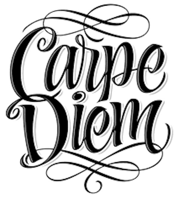 """""""Carpe Diem"""" the New Motto for 2021"""