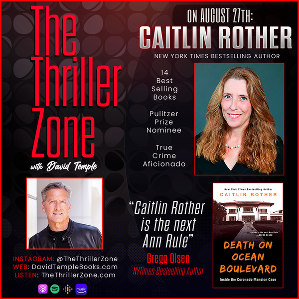 Caitlin Rother, New York Time Bestselling True Crime Author Image
