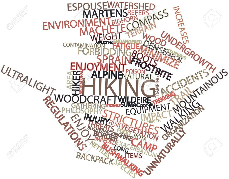Episode #60 Lagniappe - Hiking terms and lingo