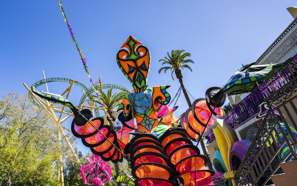 Busch Gardens Tampa Announces Extended Mardi Gras Event