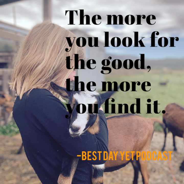 You Focus on the Good (POWER EPISODE)