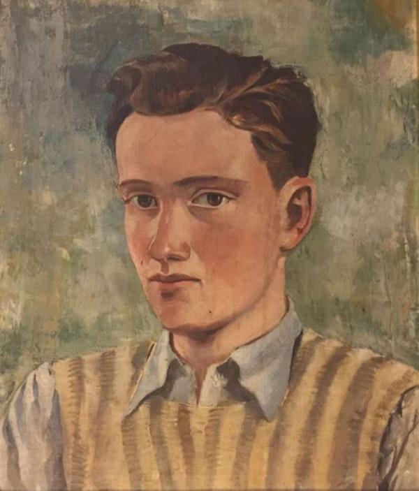69 German Boy Soldier Willi Langbein WW2