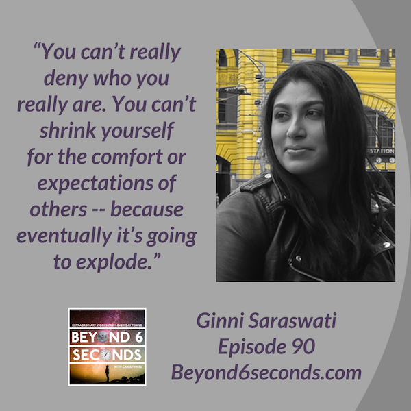 Episode 90: Finding Your Voice On The Air -- with Ginni Saraswati Image