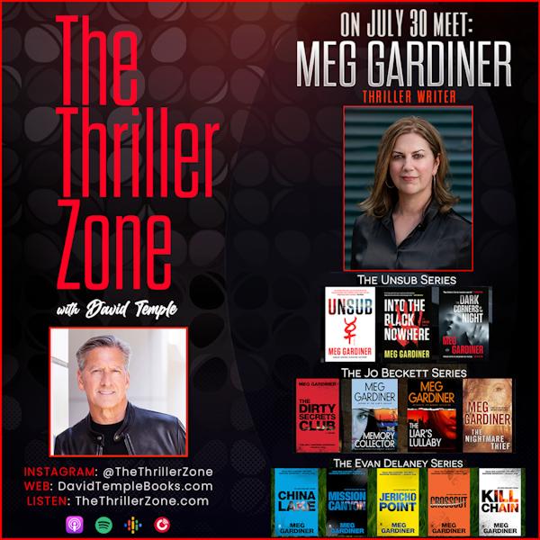 Edgar-winning Writer & Music-Wine-Thesaurus Connoisseur: Meg Gardiner Image