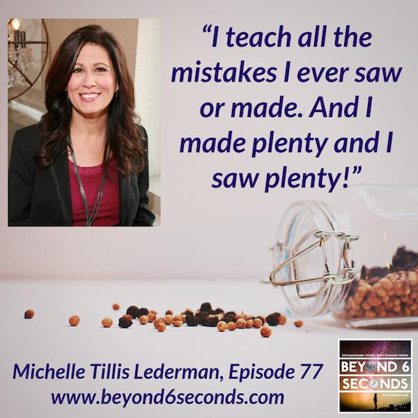 Episode 77: Michelle Tillis Lederman – The Connector's Advantage Image
