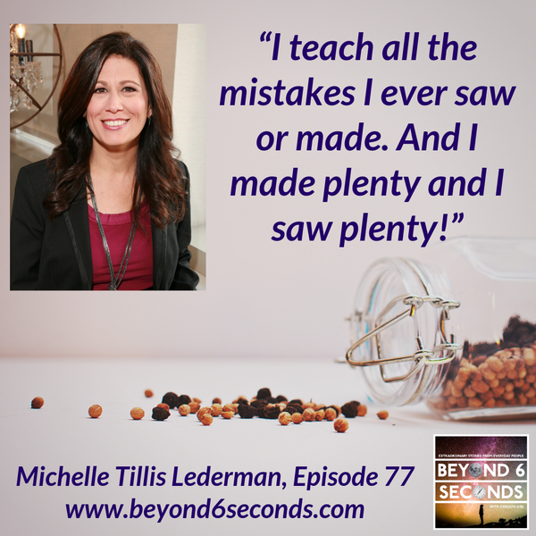 Episode 77: Michelle Tillis Lederman – The Connector's Advantage Image