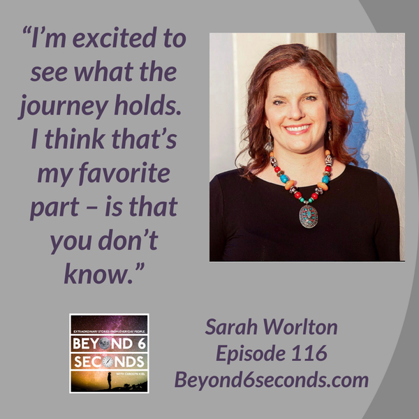 Episode 116: Are You Happy In Your Heart? – with Sarah Worlton Image