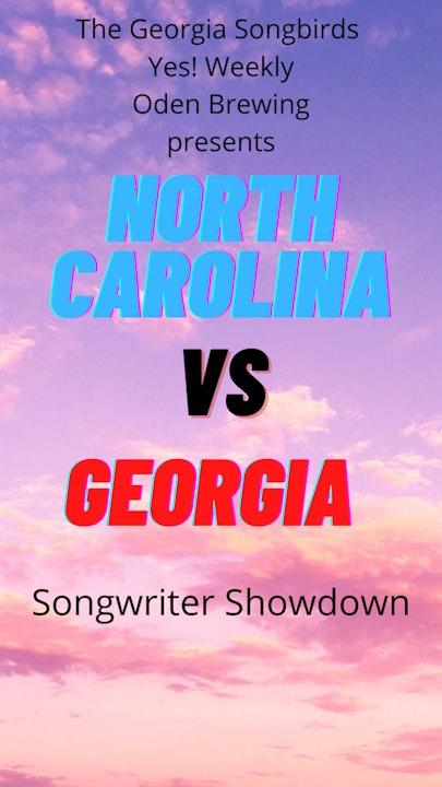 North Carolina vs Georgia Songwriter Showdown