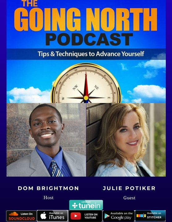 """75 - """"Life Falls Apart, But You Don't Have To"""" with Julie Potiker (@JuliePotiker)"""