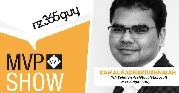 Kamal Kolar Radhakrishnaiah on The MVP Show